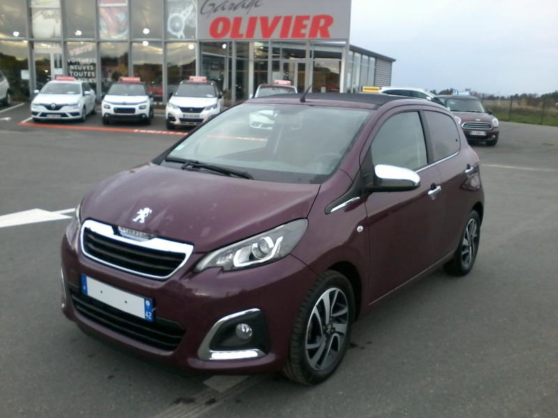 peugeot 108 5 PORTES TOP ALLURE ESSENCE 82 CV
